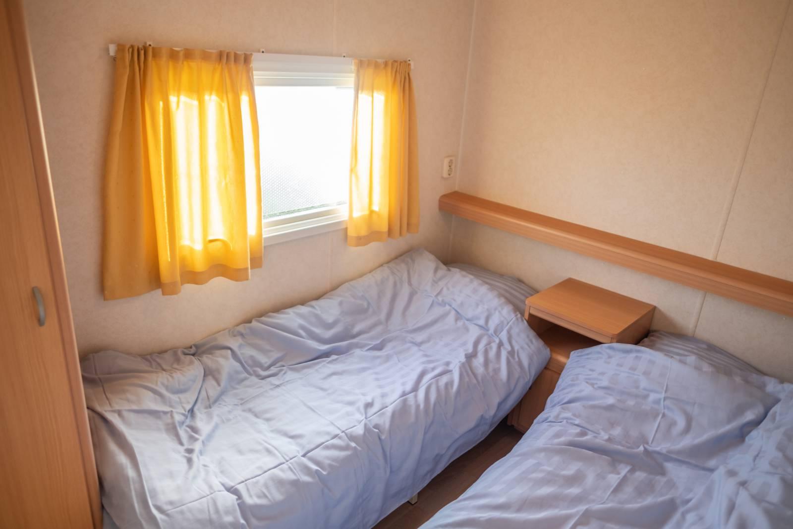 Stacaravan, slaapkamer 2