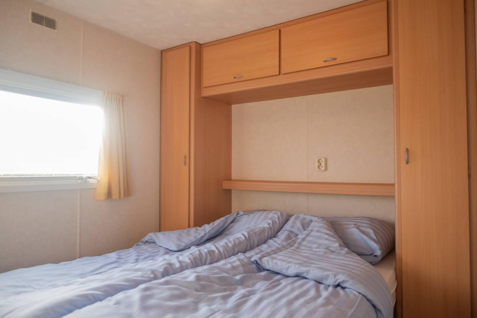 Stacaravan, slaapkamer 1