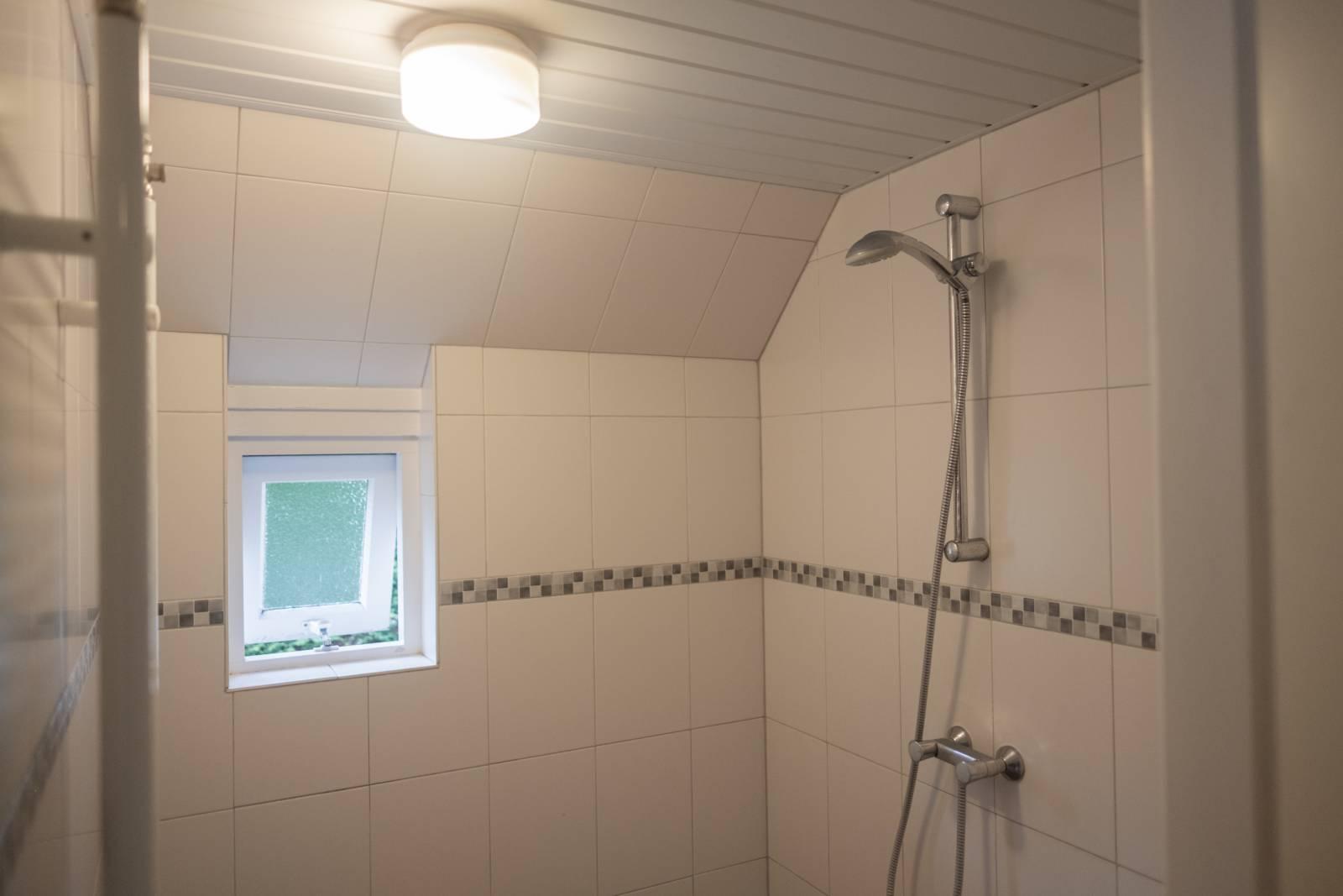Vakantiehuisje, badkamer