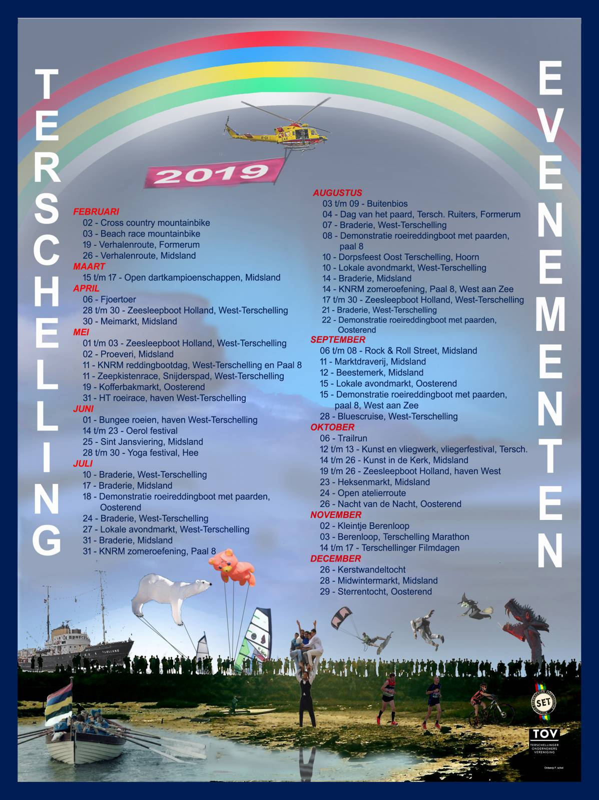 evenementenkalender 2019